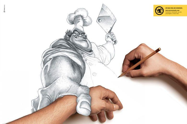 cool, drawing, art, hand