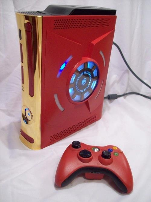 boys, cool, games, iron man, red, xbox 360