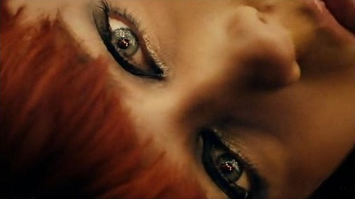 cosmic love, eyes, florence and the machine, florence welch, red