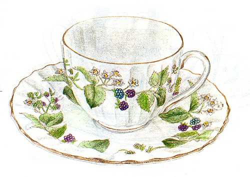 china, cup, design, dish, paint, teacup