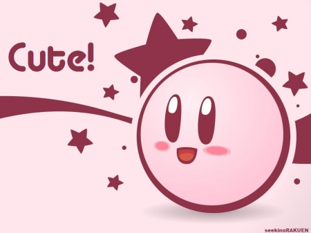 cute, kirby, other, pink