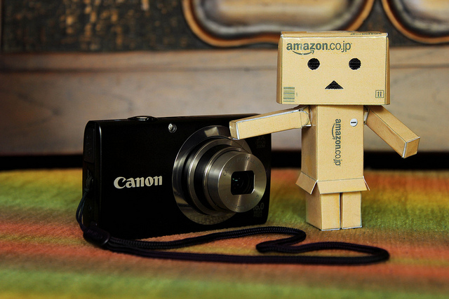 danbo, camera, cute, doll