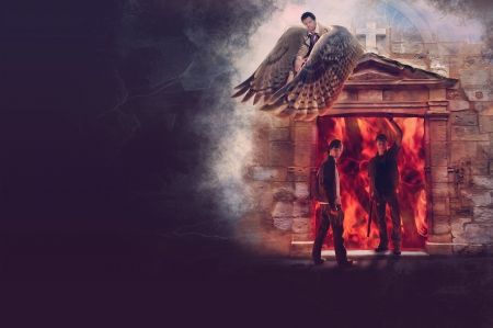 dean, dean winchester, gate to hell