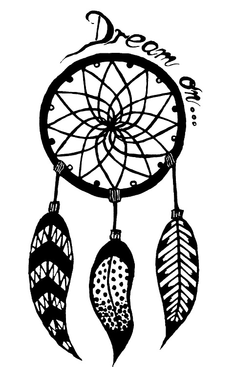 Dreams Tumblr Drawing Dream Catcher