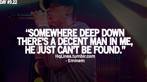 eminem, life, love, hqlines, sayings