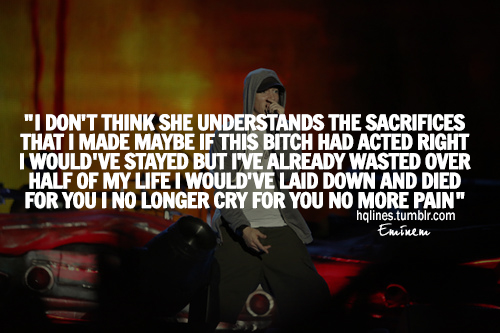 eminem quotes about life quotesgram