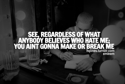 eminem quotes and sayings quotesgram