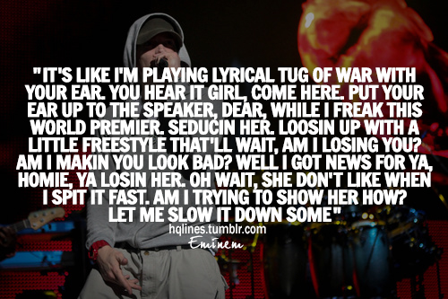 eminem quotes from songs tumblr - photo #33