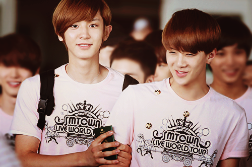 exo, exo k, sehun, chanyeol