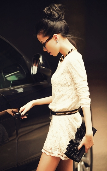 fashion, girl, car, style