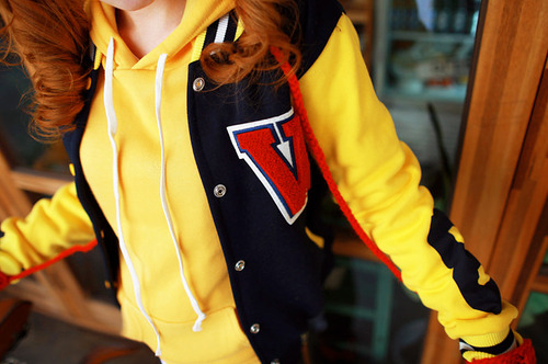 fashion, girl, jacket, style, varsity