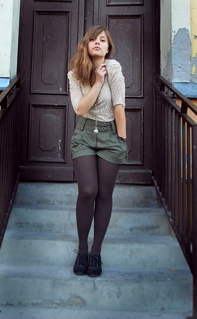 art, beautiful, couple, cute, fashion, girl, hair, lace, outfit, photography, pretty, shorts