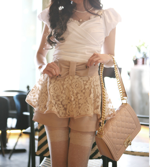 casual, classy, cute, fashion, girly, kfashion, lace, outfit