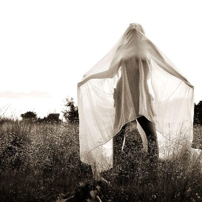 black  white, fashion, field, ghost, kristel peters, mistery, model