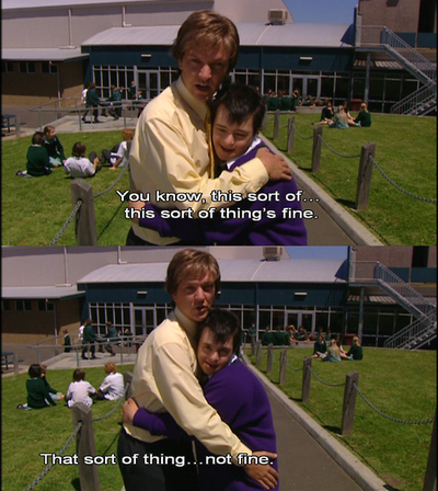 fine, mr g, not fine, summer heights high, toby