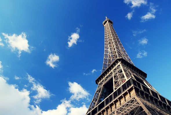 france, eiffel, tour, paris, sky