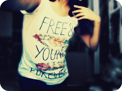 free, young, forever