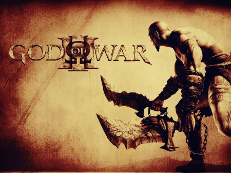 games, god of war, kratos, swords
