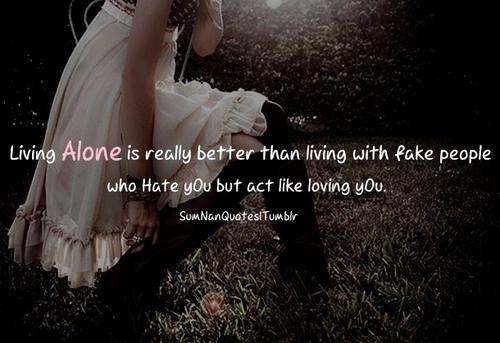 sad alone girl quotes - photo #2