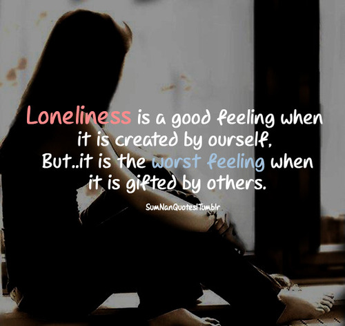 sad alone girl quotes - photo #9