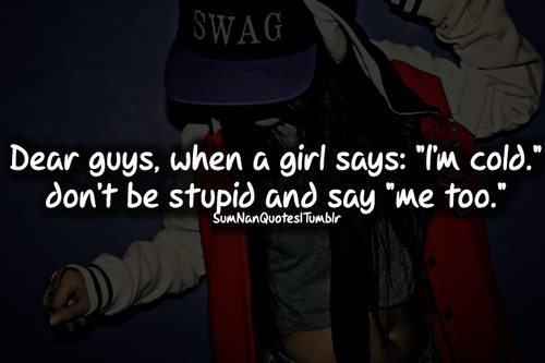 girl, cap, swag, cool, sumnanquotes