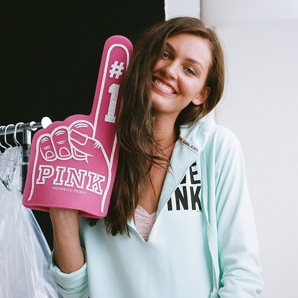 girl, pink, one, finger, hand