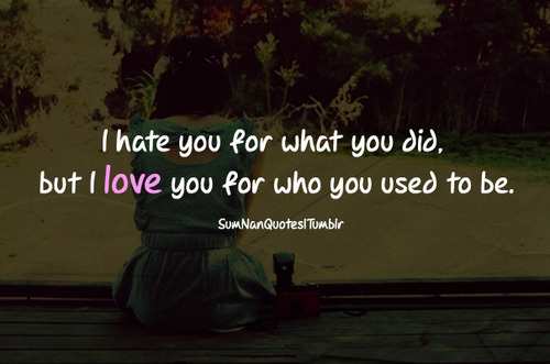 girl, sad, alone, love, quote - image #503916 on Favim.com