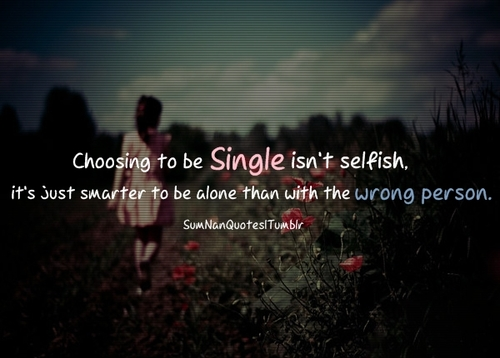 girl, single, alone, relationship, quote