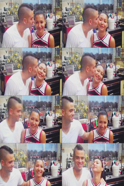 art, beautiful, couple, cute, fashion, glee, hair, mark salling, naya rivera, nooooooooooooooooo, photography, pretty, shrek