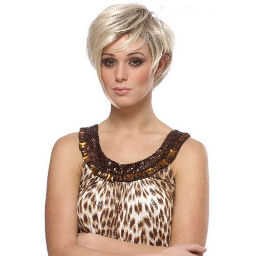golden spice girl victoria wig