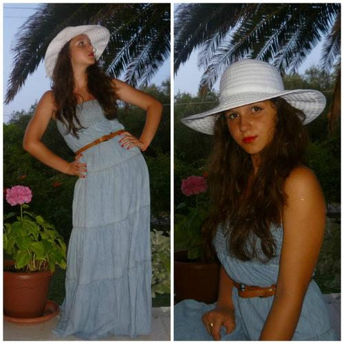 greece, dress, girl, hat