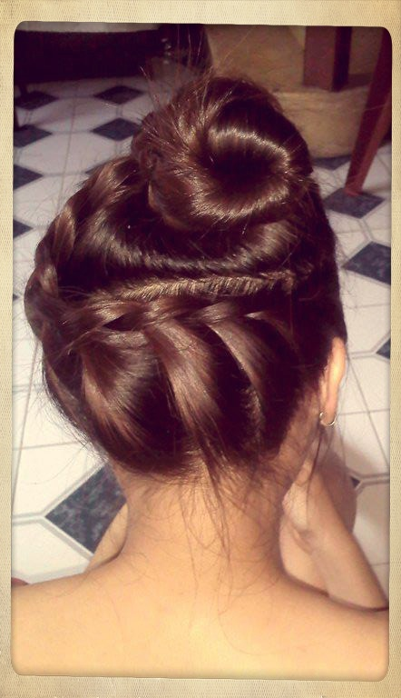 hair, style