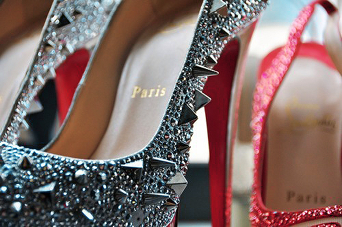 beautiful, heels, strass