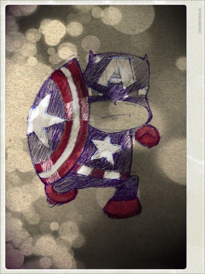 hero captain america