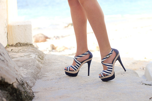 high heels, shoes