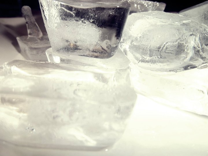 ice cubes, water, cold, frozen