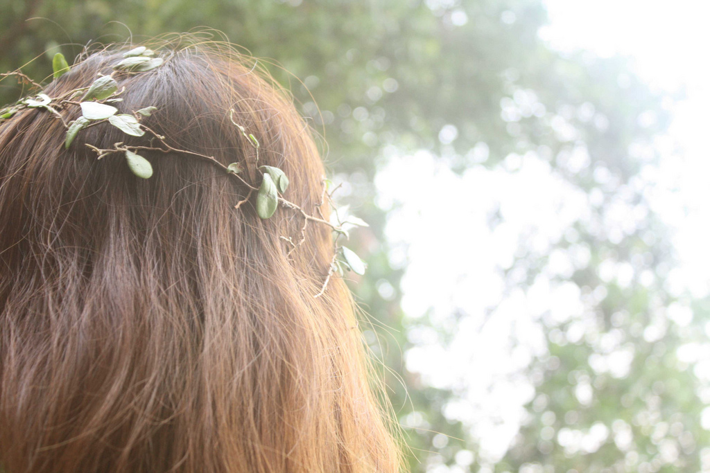 indie, flower, flowers, headband, head band