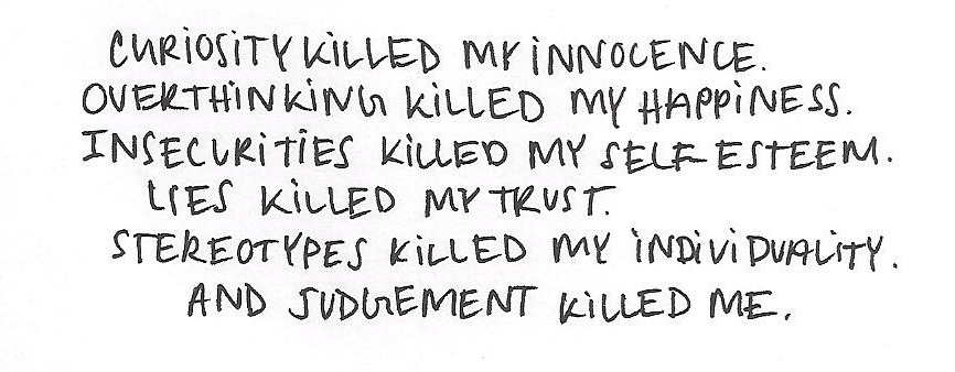 insecure, quote, kill, self esteem, lies - image #485264 on