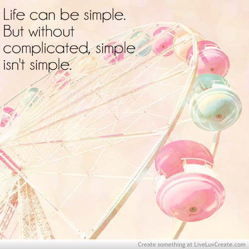 complicated love quotes like success