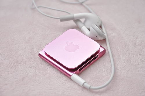 ipod, pink