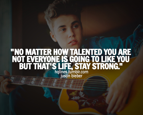 quotes from justin bieber quotesgram