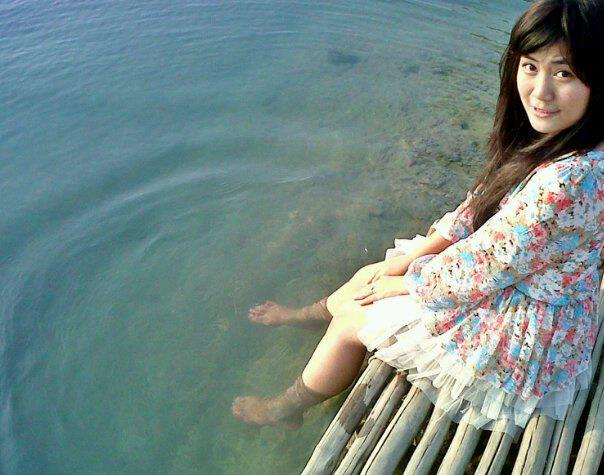 asian girl, dress, indonesian, indonesian girls, lake, landscape, long hair, summer
