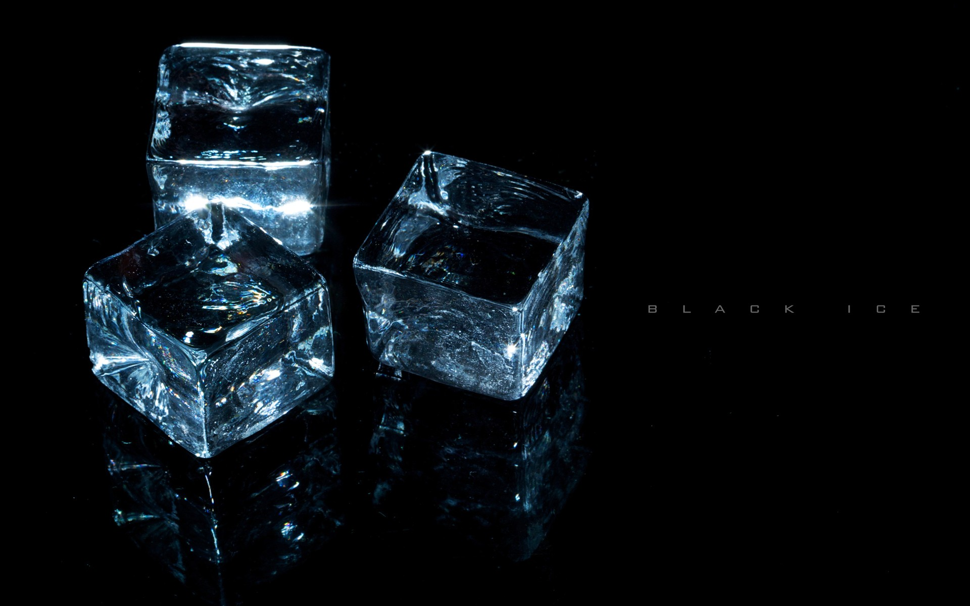 light, ice, black