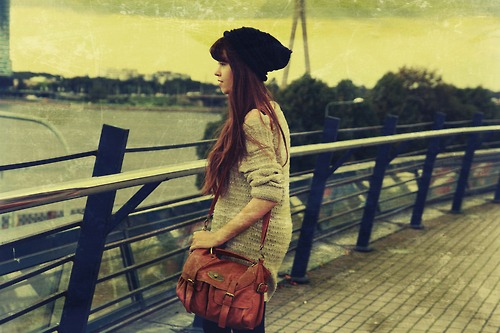 art, artist, bag, blouse, city, earrings, green, hippie, hippy, hipster, liza, liza swan, model, retro, sun, sunset, swan, town, vintage