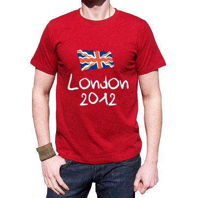 london 2012, olympic, t-shirt, union jack flag