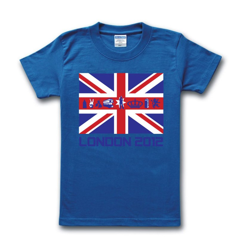 london 2012 uk flag t-shirt