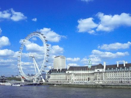 britain on view, british, buildings, england, london, london eye, photography, river, sky, thames, travel, uk, wheel
