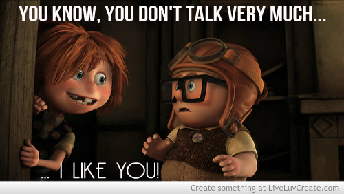 Up Movie Love Quotes love, cute, movie, quo...