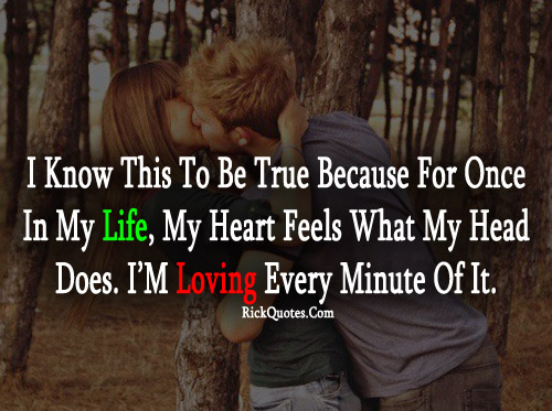love, life, quote, couple, kiss