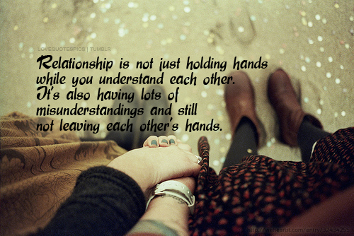 boy, couple, girl, holding hands, love, love quotes, love sayings, misunderstanding, quotations, quote, quotes, relationship, sad, sayings, text, typo, typography